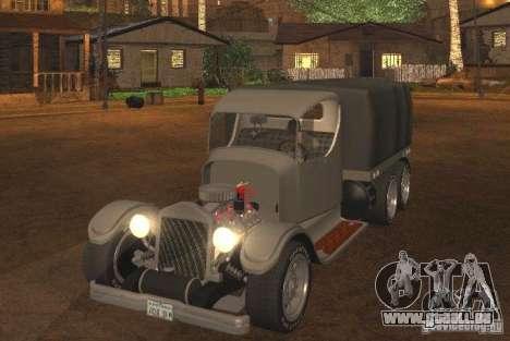 Ford Model-T Truck 1927 pour GTA San Andreas laissé vue