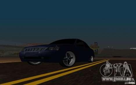 Tuning de voiture LADA PRIORA pour GTA San Andreas