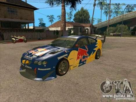 Pontiac GTO Red Bull für GTA San Andreas