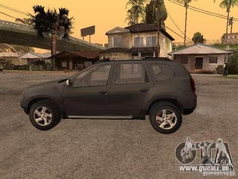 Dacia Duster pour GTA San Andreas vue de droite