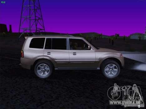 Mitsubishi Montero für GTA San Andreas rechten Ansicht