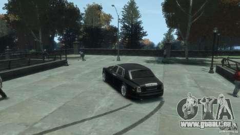 Rolls-Royce Phantom für GTA 4 hinten links Ansicht
