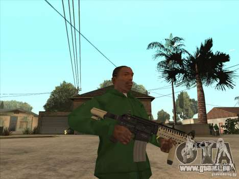 M4 de Call of Duty pour GTA San Andreas deuxième écran