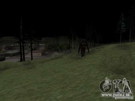 Homme de neige pour GTA San Andreas deuxième écran