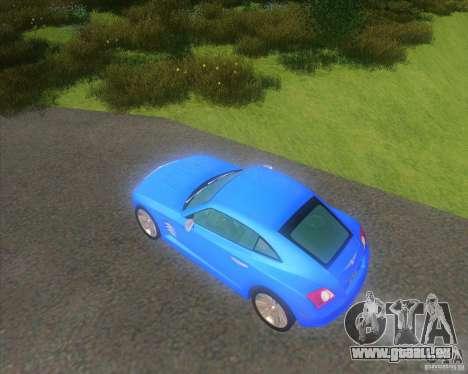 Chrysler Crossfire für GTA San Andreas linke Ansicht