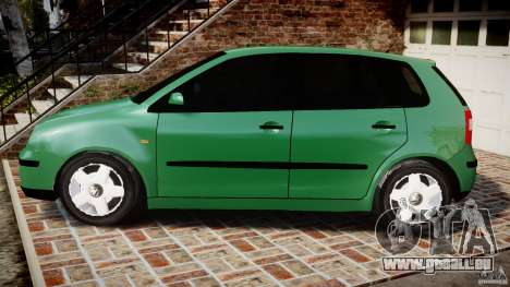 Volkswagen Polo 2.0 2005 pour GTA 4 est une gauche