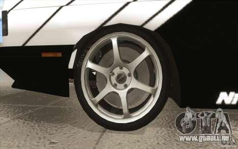 BMW E30 M3 - Coupe Explosive pour GTA San Andreas vue de dessus