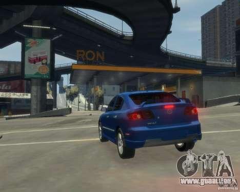 Mazda 3 sedan 2008 für GTA 4 hinten links Ansicht