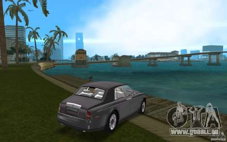 Rolls Royce Phantom für GTA Vice City rechten Ansicht