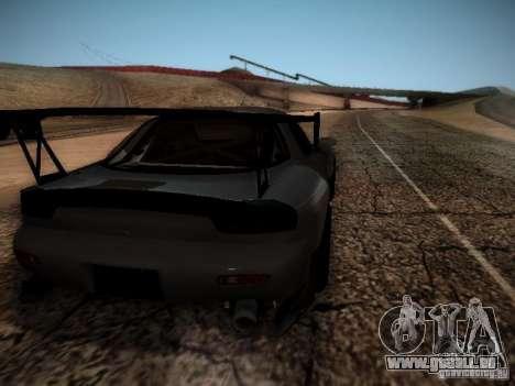 Mazda RX7 Drift pour GTA San Andreas vue de droite