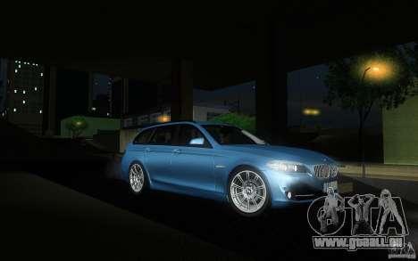 BMW F11 530d Touring pour GTA San Andreas vue arrière