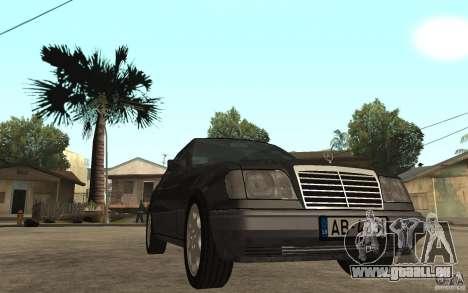 Mercedes-Benz 320CE C124 pour GTA San Andreas vue arrière