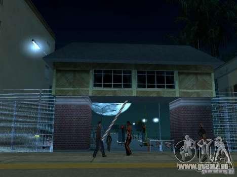 Faites glisser la route v 2.0 finale pour GTA San Andreas deuxième écran