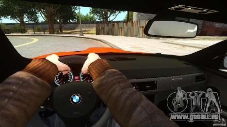 BMW M3 GTS Final pour GTA 4 Vue arrière