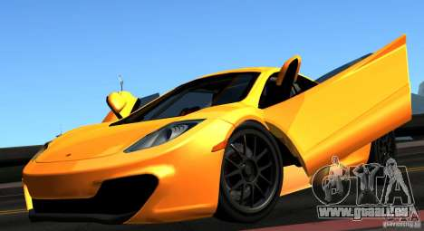 McLaren MP4-12C TT Black Revel pour GTA San Andreas