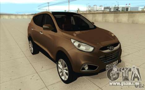 Hyundai ix35 für GTA San Andreas Unteransicht