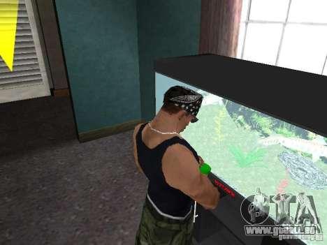 Aquarium pour GTA San Andreas quatrième écran