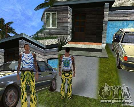 CJ VDV pour GTA San Andreas