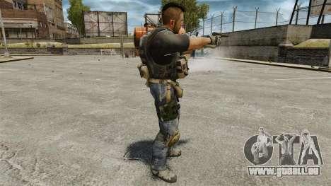 Le capitaine John « 4 » Mctavish pour GTA 4 quatrième écran