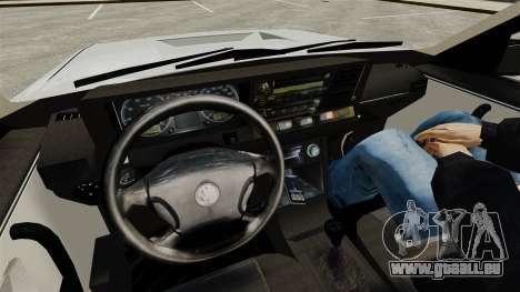 Volkswagen Santana Shanghai Century Rookie pour GTA 4 est une vue de l'intérieur