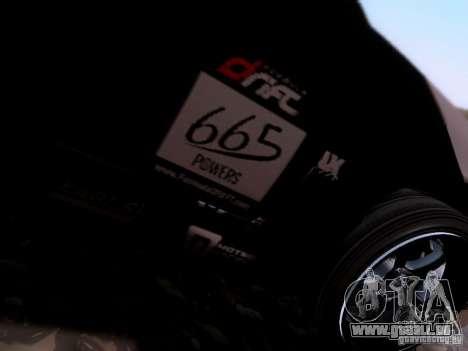 Nissan Silvia S14 Matt Powers v4 2012 pour GTA San Andreas vue arrière