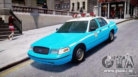 Ford Crown Victoria Classic Blue NYPD Scheme pour GTA 4