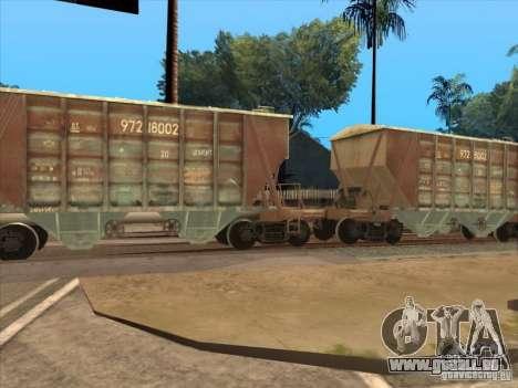 Wagons pour GTA San Andreas