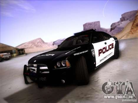 Dodge Charger RT Police Speed Enforcement für GTA San Andreas