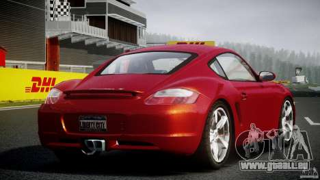Porsche Cayman S v2 pour GTA 4 est une vue de l'intérieur