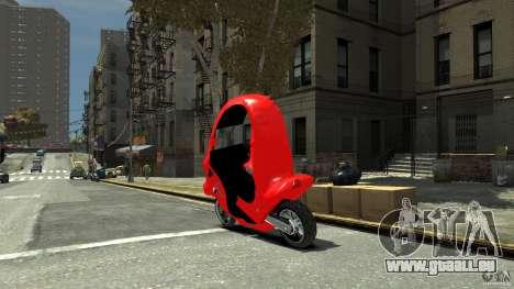 BMW C1 für GTA 4 linke Ansicht