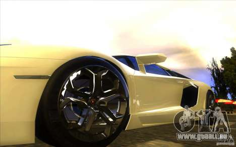 Lamborghini Aventador LP700-4 pour GTA San Andreas moteur