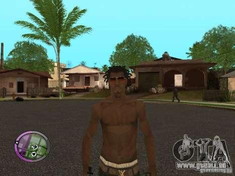 Afro-American Boy pour GTA San Andreas cinquième écran