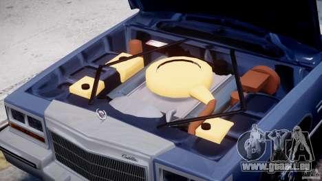 Cadillac Fleetwood Brougham 1985 pour le moteur de GTA 4