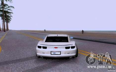 Chevrolet Camaro Super Sport 2012 für GTA San Andreas rechten Ansicht