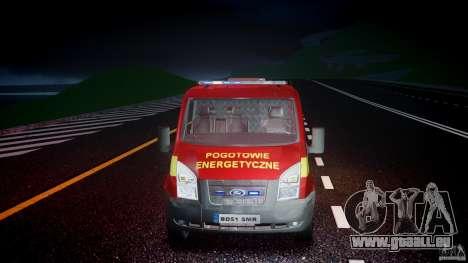Ford Transit Polski uslugi elektryczne [ELS] pour GTA 4 est un côté