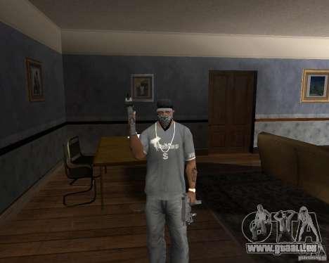 Kedr pp-91 pour GTA San Andreas troisième écran