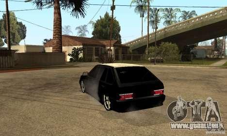 Lada ВАЗ 2114 LT pour GTA San Andreas sur la vue arrière gauche