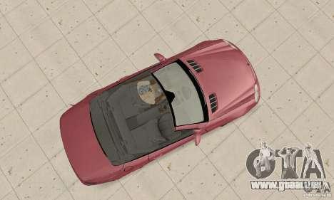Mercedes-Benz SL500 (R230) pour GTA San Andreas vue de droite
