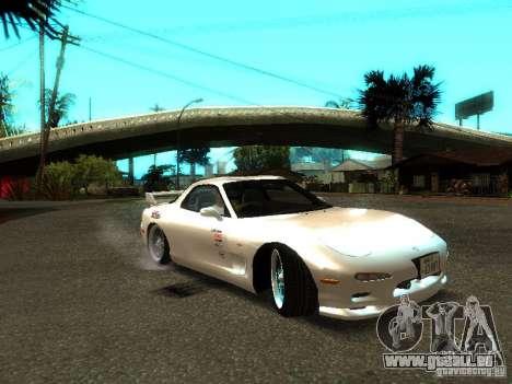 Mazda RX-7 TypeR für GTA San Andreas zurück linke Ansicht