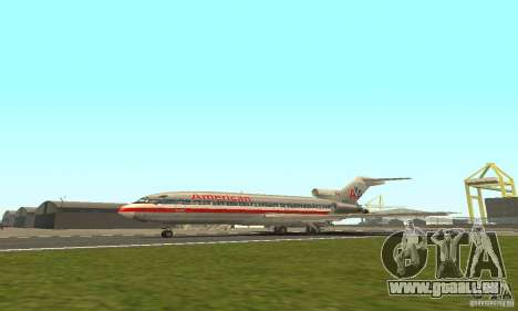 Boeing 727-100 American Airlines pour GTA San Andreas