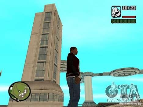 Haus 4 Kadetten aus dem Spiel Star Wars für GTA San Andreas dritten Screenshot
