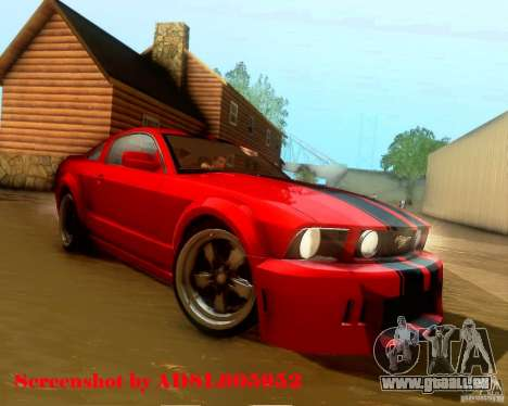 Ford Mustang GT 2005 Tunable für GTA San Andreas Motor