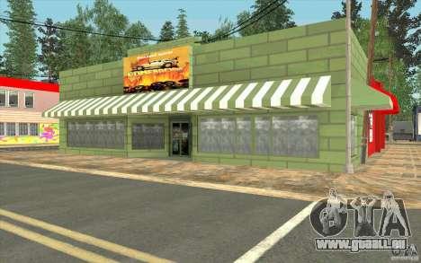 Un nouveau village Dillimur pour GTA San Andreas dixième écran