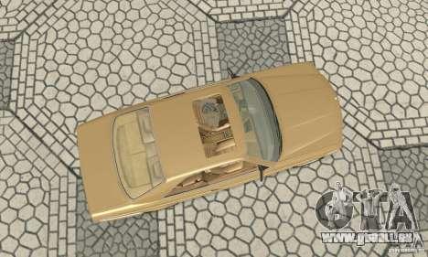 Mercedes-Benz W126 560SEC pour GTA San Andreas vue de droite