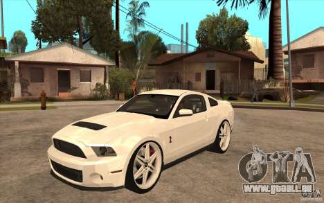 Ford Shelby GT500 für GTA San Andreas