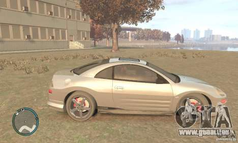 Mitsubishi Eclipse Spyder pour GTA 4 est une gauche