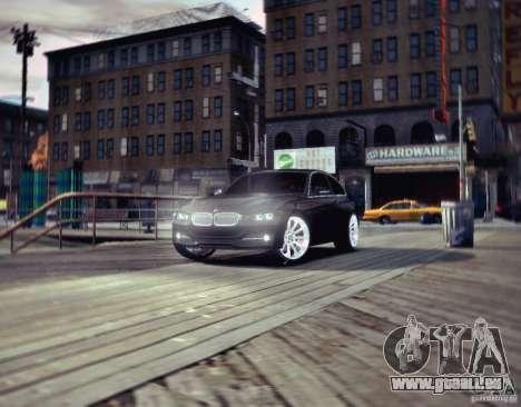 BMW 335i Coupe pour GTA 4 est une gauche
