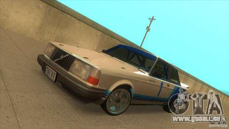 Volvo 240 Turbo Group A für GTA San Andreas