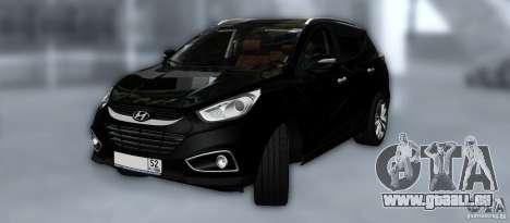 Hyundai ix35 pour GTA San Andreas roue