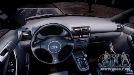 Audi A3 Tuning pour GTA 4 Vue arrière